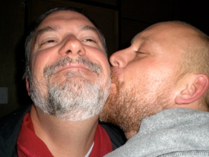 Buddy and Greg~ Beard Love
