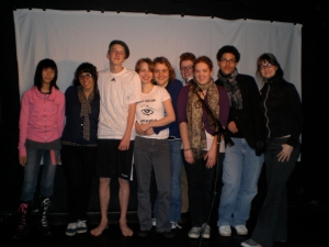 The cast of Fame, 2009